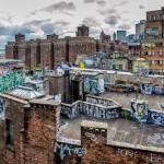 Chinatown Rooftop Graffiti