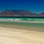 Dearest Table Mountain Across a Bay