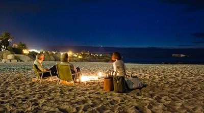 Picnic on 3rd Beach, Clifton, Cape Town