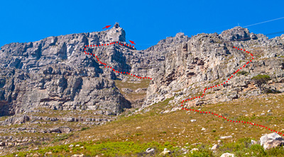 Table Mountain's India Venster Trail: Do Not Try This At Home…