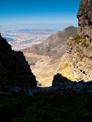 The Garmin Forerunner on Table Mountain