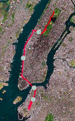 La Traversée de Manhattan
