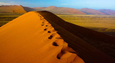 Roasted in the Namib, Part 4 – Sossusvlei, or taking the pulse of the oldest desert on Earth