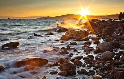 Sweet Seawall sunset