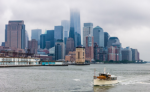 New York Skyline, a Maritime View