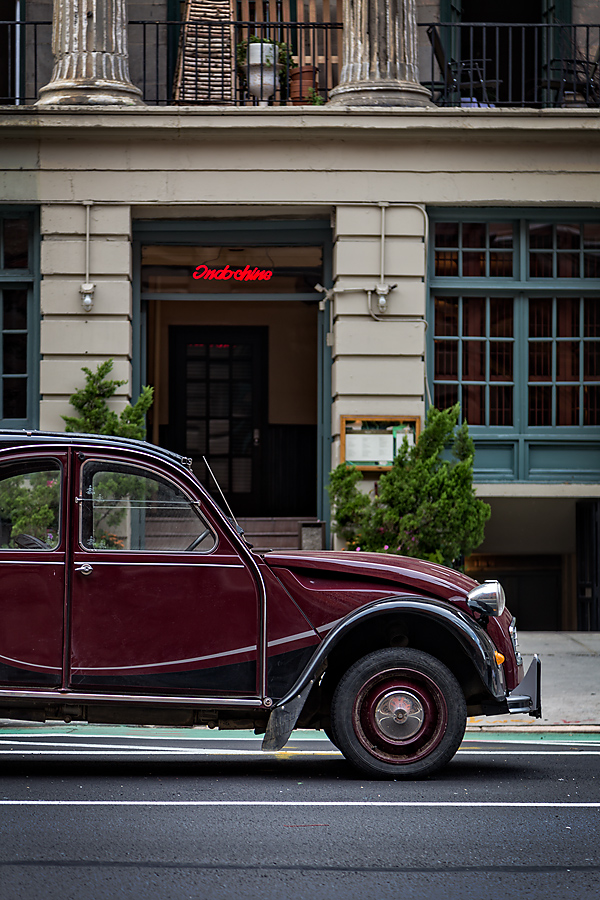 New York Sightings – Citroën at Indochine