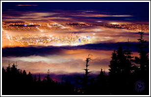 The Fog Seen From Grouse Mountain